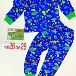5-6 yıldır yeni pijamalar sıcak.