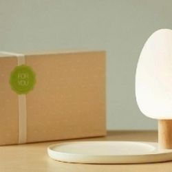 Λυχνία LED + ασύρματη φόρτιση