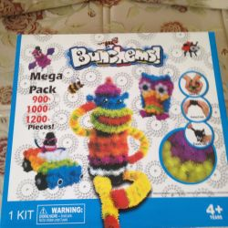 Designer sticky balls Bunchems 1200