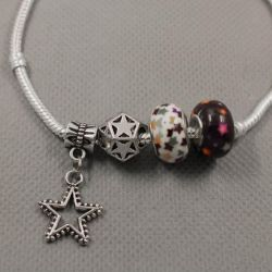 Bracelet in the style of Pandora 0516