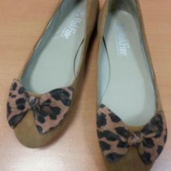 Παπούτσια μπαλέτου nat.zamsha 36r Νέα.