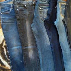 Jeans, pants, shorts