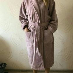 Dressing gown terry new Turkey TORG