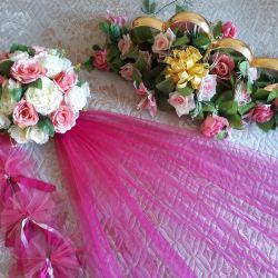 Аренда украшения для свадебной машины/ прокат