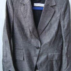 Jacket black gray 42-44 Zara Viscose