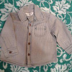 Shirt for a boy, 3-6 months