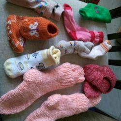 Παιδικά κάλτσες πλεκτά