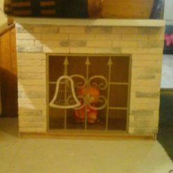 Fireplace (false fireplace) portal for fireplace