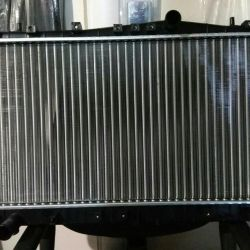 The radiator on the Lacetti