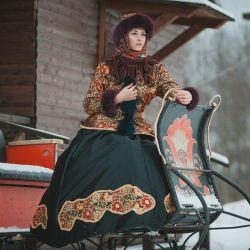 Outfit RUSSIAN LADY