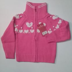 Sweatshirts with zippers for girls