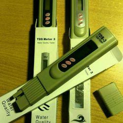 TDS - meter (salimeter) TDS-3 TDS / TEMP meter (hold)