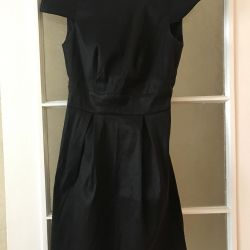Dress with open back