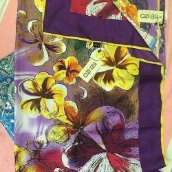 KENZO σάλια, φυσικό μετάξι, διαφορετικά σχέδια και χρώματα, νέα