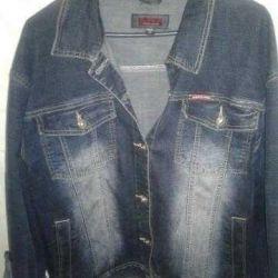 Куртка джинсовар.50-52