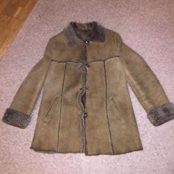 Doğal bayan paltoları
