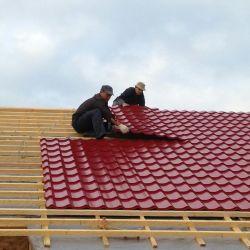 Çatı kaplama işleri
