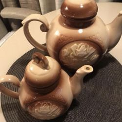 Ceramic teapots. the USSR