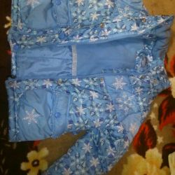 Зимний детский костюм данило