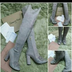 Νέες μπότες (πολύ υψηλότερες από το γόνατο)