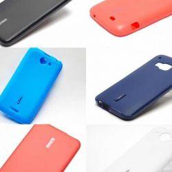 κερασινη σιλικονης για HTC Καλύπτει για HTC E9 Plus, HTC