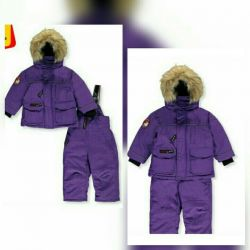 Canada Weather overalls, new for 1 year
