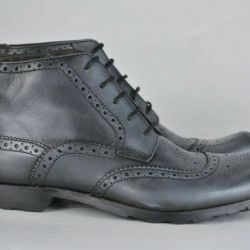 Оригинальные новые кожаные ботинки 45
