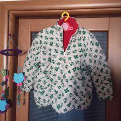 Куртка утепленная Child Champ с лепестками клевера
