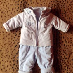 Overalls for the boy r74-80