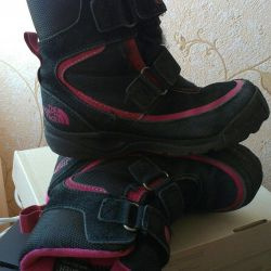 Winter boots (boots) for a girl US 13