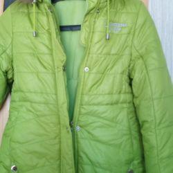 Новая зимняя куртка с этикеткой