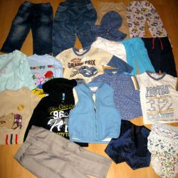 Clothes and shoes for baby for 2 years