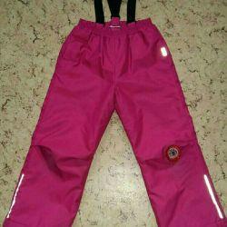 Winter pants LASSIE for girls