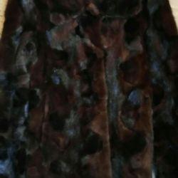 Ένα νέο παλτό από βιζόν. Ιταλία. 🇮🇹. Μ