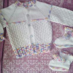 Jacket + papuci