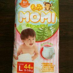 Momi m / l külot boyutu