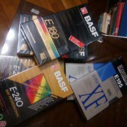 Видео кассеты (Япония и отеч.) с записями