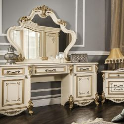Dressing table + stool Oliva