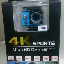 GO camera PRO F60B 4K Ultra HD