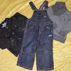 Clothing package for a boy 80-86 cm