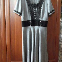 Dress - half-wool sundress of river 46-48