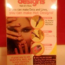 Set for drawing on nails