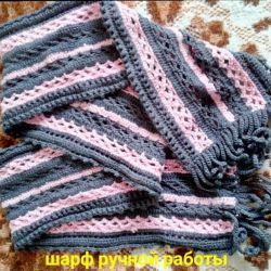 🍥Scarf hand-knitted🍥