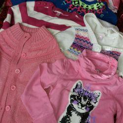 Одежда на девочку 5-7 лет