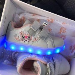 Illuminated Indigo Sneakers