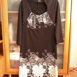 rochie nouă, 44-46 ruble, fermoar pentru spătar