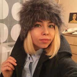 Fur hat of fox