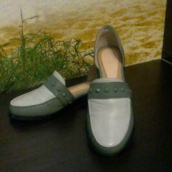Παπούτσια γνήσιο δέρμα νέο