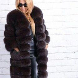Fur coat Finnish Arctic Fox LUX?