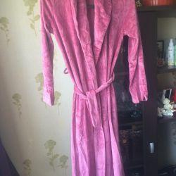 Dressing gown Italian velor